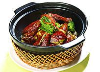 砂锅顶香豉油鸡