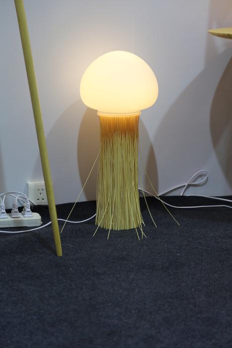 灯泡家具设计手绘