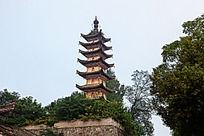 历史建筑长庆寺塔