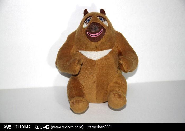 毛绒玩具熊大熊二图片