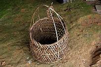 农家手工艺竹编竹篮