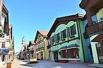 欧式建筑街景