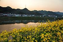新安江的黄昏