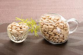 白扁豆摄影图