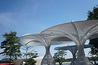 深圳欢乐海岸艺术休闲场所