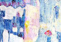抽象画 抽象油画