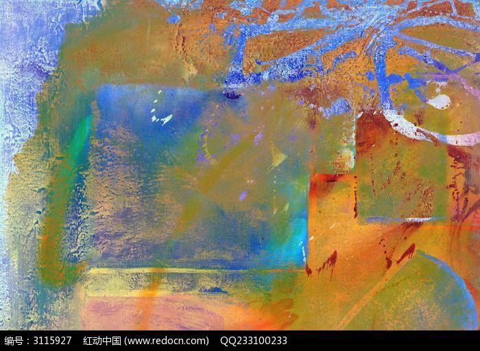 抽象油画 抽象画图片