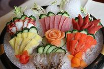 海鲜刺身拼盘