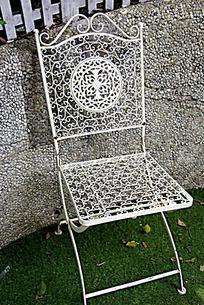 欧式花纹铁艺椅子
