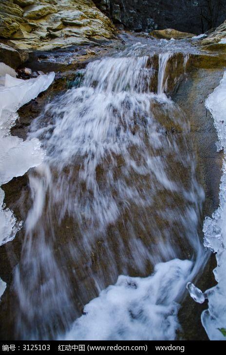山涧小溪河流