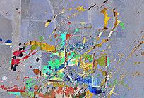 无框画 装饰画 抽象画