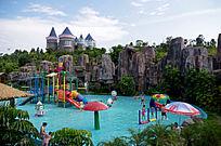 游乐园儿童泳池