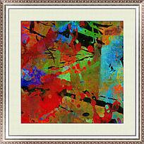 抽象 原创抽象装饰画