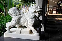 麒麟雕刻艺术摄影