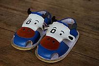 儿童牛皮凉鞋