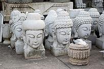 佛头雕刻艺术