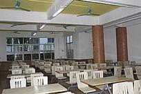 海南软件职业技术学院第二食堂内景