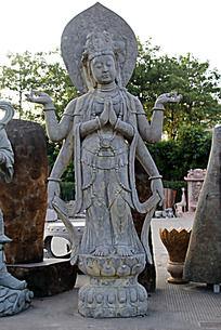 四壁观影神像