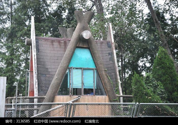 小木屋图片,高清大图_园林景观素材
