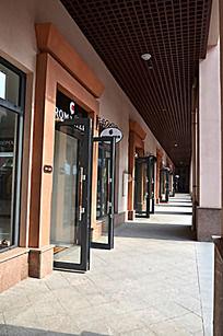 欧式门店建筑