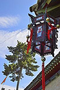 一个仿古灯笼