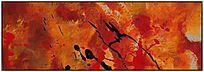 油画 时尚抽象画 抽象艺术