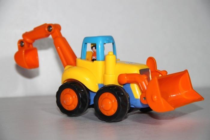 儿童玩具铲车图片