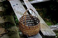 竹编提篮子