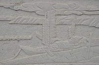 滕王阁里的浮雕