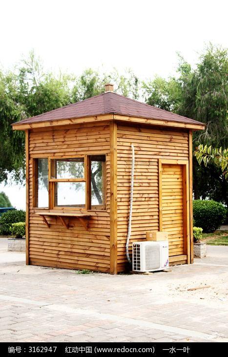 园林景观小木屋建筑图片