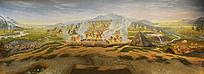 原始人生活家园全景图