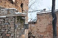 农村民居墙壁