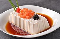 三文鱼冻豆腐