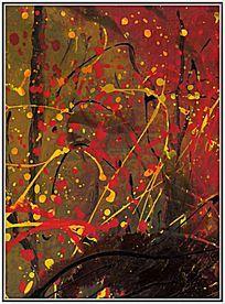 纯抽象涂鸦 抽象艺术画
