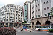 广州城市街道风景