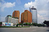 广州城市楼群风光