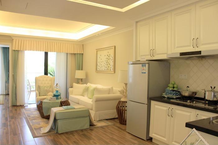 开放式厨房与客厅家居装修