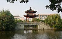 南江公园亭子小桥