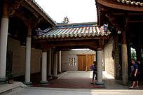 南普陀寺庙一角建筑