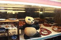 泥塑功夫熊猫