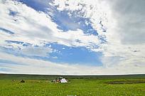 青海的大草原