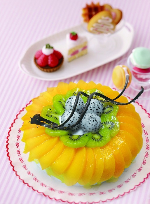 水果蛋糕美食