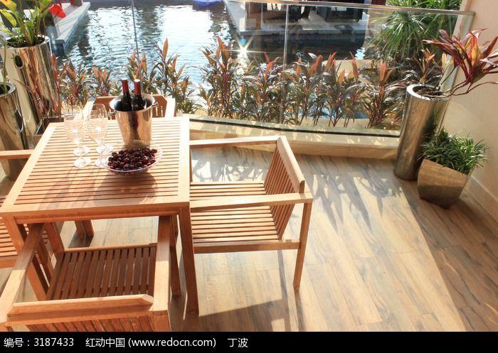 阳台休闲桌椅图片_生活百科图片