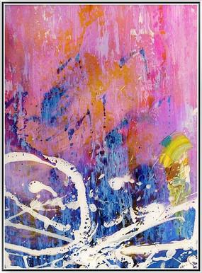 装饰画 抽象涂鸦艺术画