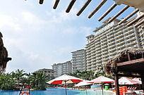观澜湖酒店游泳池区