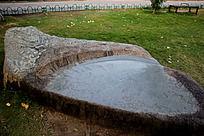 园林石头桌椅