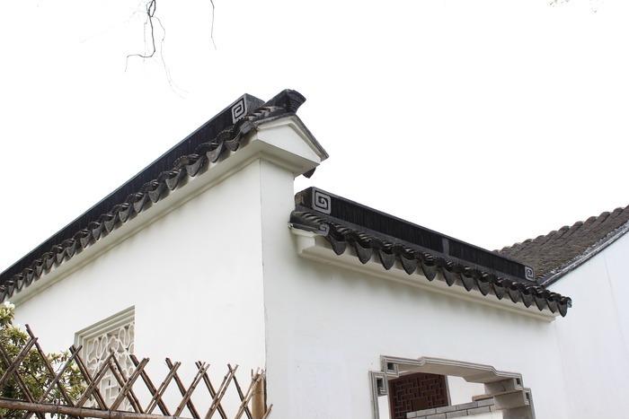 苏州园林白墙青瓦