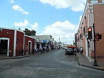 尤卡坦半岛小镇