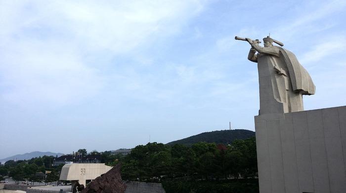 刘公岛石刻雕像