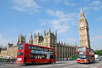 伦敦大本钟城市风景